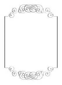 free vintage clip images calligraphic frames and borders vintage frames and borders