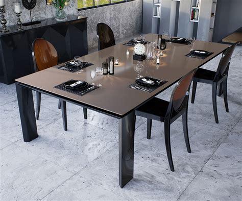table salle a manger carree 140x140 table salle a manger carree design en verre redoute bois