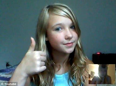tween girls webcam am i ugly youtube video worrying new trend sees tweens