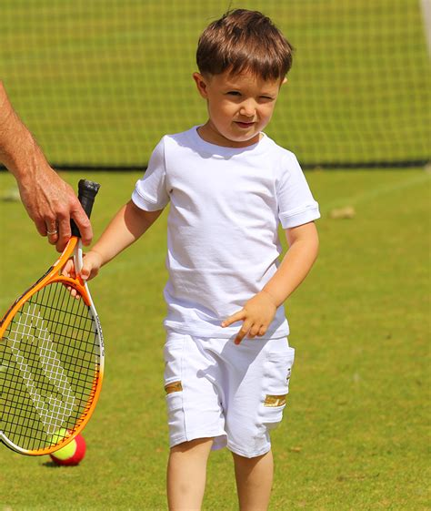 wimbledon white boys tennis outfit boys tennis apparel