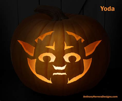 free printable pumpkin stencils star wars star wars pumpkin carving templates anthony herrera designs