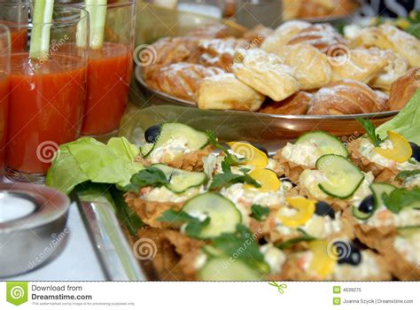 buffet style catering catering buffet style royalty free stock photo image 4639275