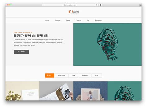 graphic design themes wordpress 50 best personal portfolio wordpress themes 2018 colorlib
