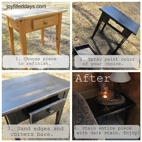 Mustard Coffee Table by Diy Tutorial For Farmhouse Primitive Look Furniture