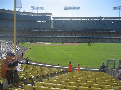what is section 52 dodger stadium section 52 rateyourseats com