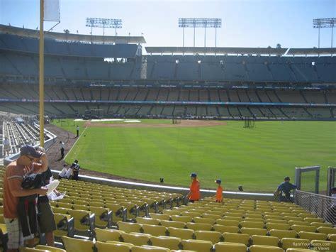 Dodger Stadium Section 52 Rateyourseats Com