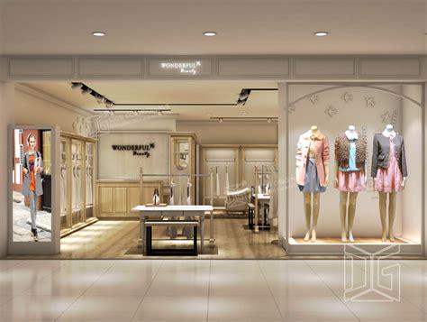 gr153 fashion clothing store interior design guangzhou