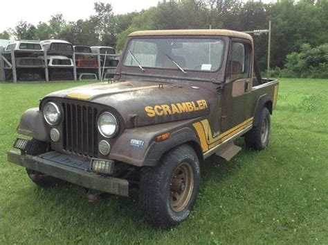 1982 Jeep Wrangler Purchase Used 1982 Jeep Scrambler Cj2 Wrangler In