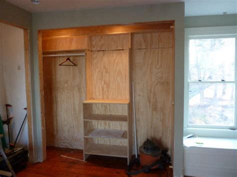 Building A Closet From Scratch by Who Needs A Closet System We Built Our Closet From