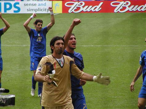 Best In 2006 by File 2006 Fifa World Cup Italy Buffon Materazzi And