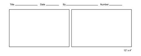 Printable Blank Comic Template For by Printable Comic Template