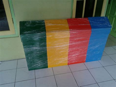 Tempat Tong Sah Fiberglass 3in1 Fiberglass Kapasitas 40liter Tong Sah Fiber Kotak Harga Murah Desain Custome 187 Cv