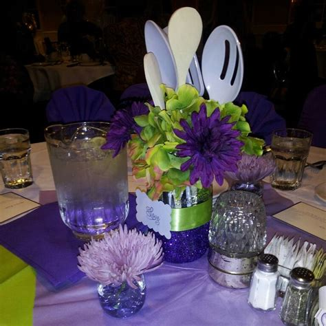 kitchen themed bridal shower ideas kitchen theme bridal shower centerpiece kitchen shower