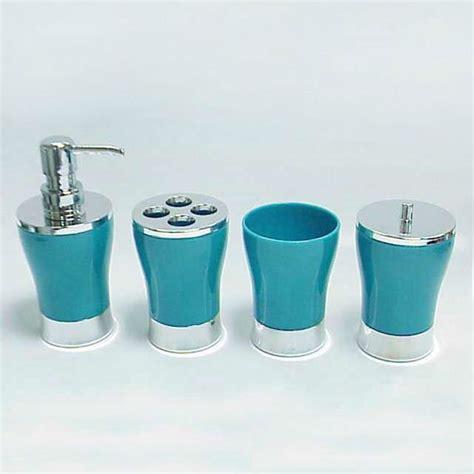 clear acrylic bathroom accessories classic design clear acrylic vase shape blue bathroom