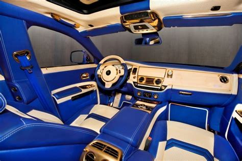 rolls royce gold interior mansory rolls royce ghost upgrades in white and electric