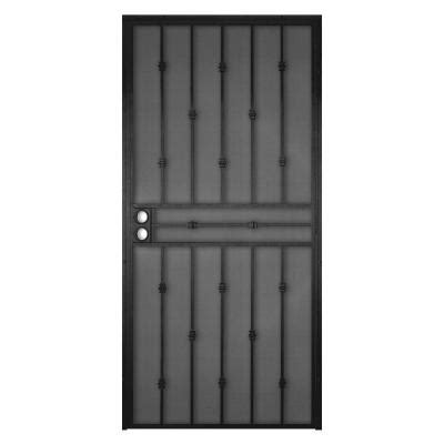 security screen doors metal security screen door home depot
