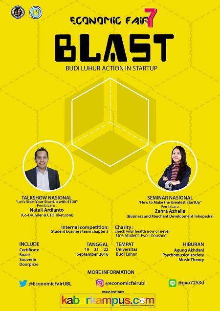 101 Hadits Tentang Budi Luhur economic fair 7 budi luhur in startup