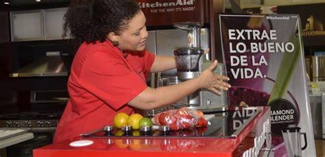 kitchenaid realizo cooking show  las madres en ferreteria americana diario social