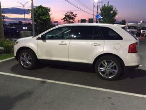 pearl ford edge 2014 ford edge pearl white lease busters wheels ca