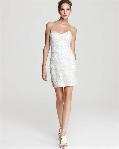 beaded slip dress theia beaded slip dress bloomingdale s