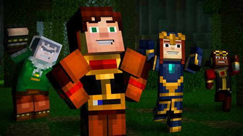 minecraft story mode minecraft story mode episode 5 launch trailer sets