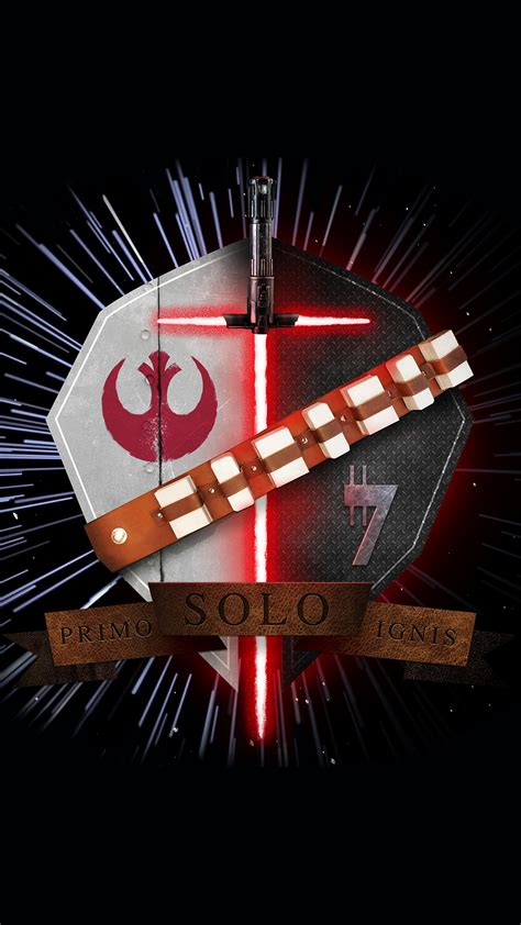 wallpaper hd android star wars star wars family crest han solo primo solo ignis iphone 6