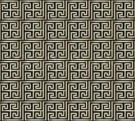 key pattern seamless golden greek key pattern stock vector colourbox