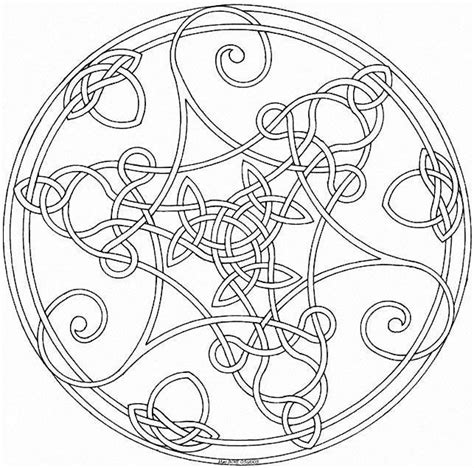 mandala coloring book meaning 25 best ideas about celtic mandala on celtic