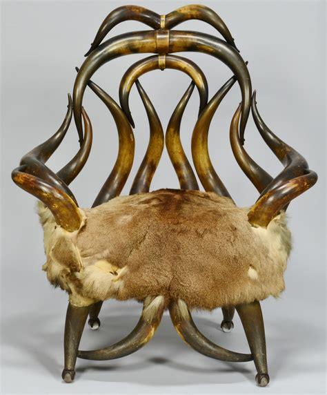 horn chair lot 172 horn chair attrib charles puppe