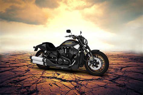 Harley Davidson Home Decor Harley Davidson V Rod 2013 Desert Digital Art By Aged Pixel