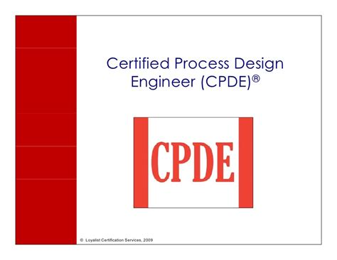 design engineer training courses cpde certified process design engineer highlights
