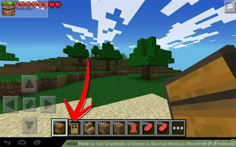 how much is the full version of minecraft on ipad how to get chestfulls of doors in survival mode in