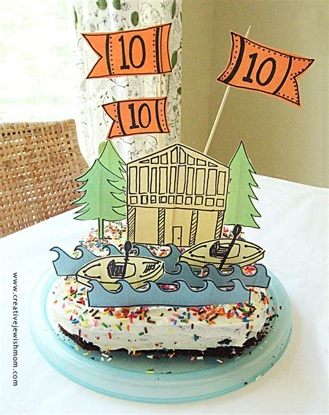 newspaper themed cake make super simple and quick birthday cake decorations from