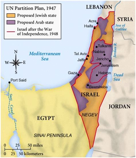 middle east map before 1948 course materials