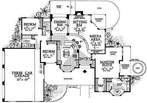 house plans with sunken living room sunken living room house plans home design and style