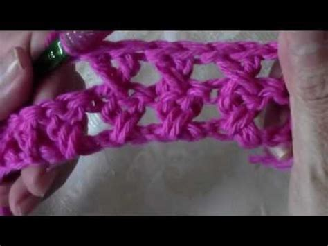 pattern j youtube crochet crossed double crochet dishcloth youtube