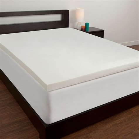 comfortable twin mattress comfort revolution twin xl memory foam mattress topper f02