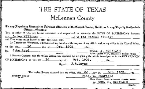 Hays County Marriage Records Marriage Certificate Look Like In Pictures To Pin On Pinsdaddy