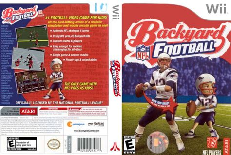 wii backyard football the yardigans christmas with the yard dvd front cover