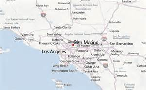 where is san marino california on a map san marino location guide