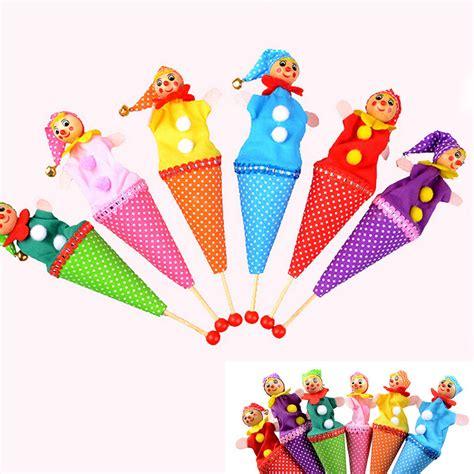 Mainan Anak Boneka Tangan Handpuppet Bob tongkat tangan mainan beli murah tongkat tangan mainan lots from china tongkat tangan mainan