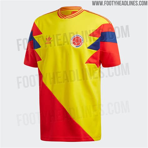 Jersey Kolombia 2018 World Cup 2018 update adidas colombia 2018 world cup mash up jersey leaked leaked soccer