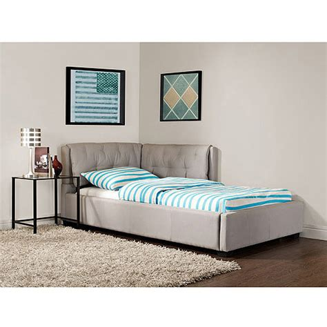 lounge beds twin upholstered reversible bed platform lounge chaise