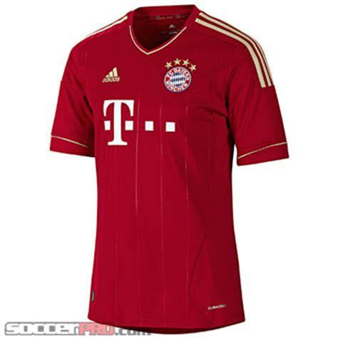 bayern munich home jersey 2011 review soccerprose