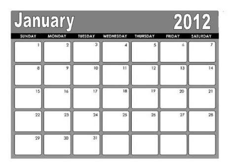 January 2012 Calendar Free Is My Freeismylife January 2012 Calendar Don