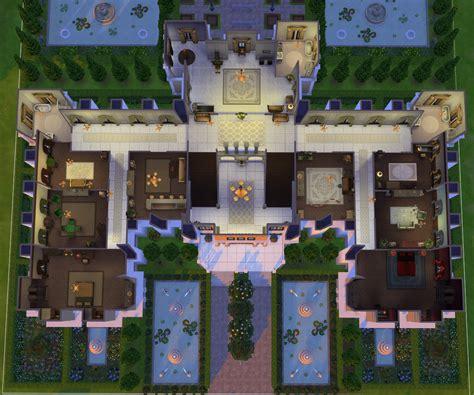 Floor Plan Creater Mod The Sims Chateau De Lorraine