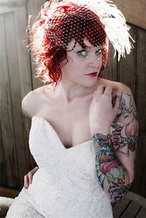 tattooed brides tattooed brides weloveweddings