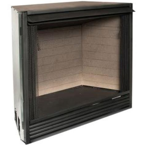 What Is A Vent Free Fireplace Insert by Procom 42 1 In Vent Free Dual Fuel Fireplace Insert