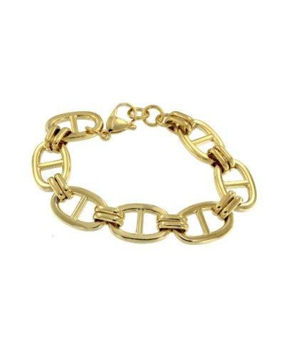 quitar nudos de cadenas de oro pulsera de eslabones dorada con nudos de barco pulsera nudos