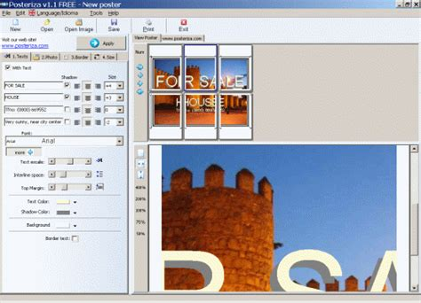 Poster Layout Software | free software to design and print your own posters signs